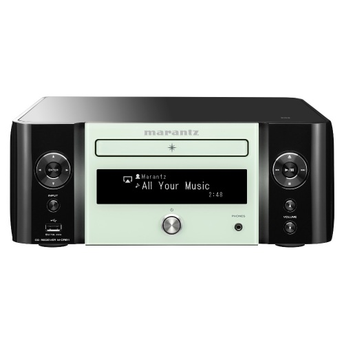 Marantz M-CR611 Melody Stream Wireless Musiksystem - Schwarz/Weiß
