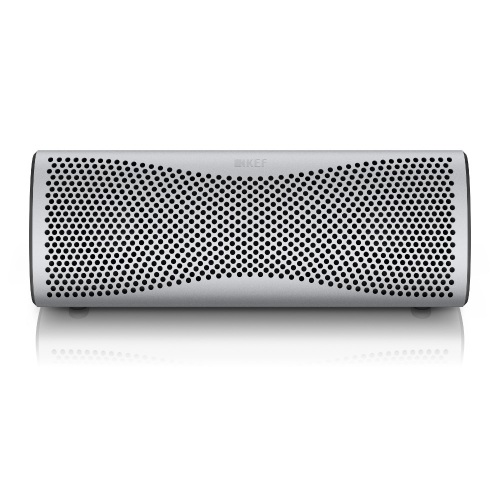 Kef MUO Bluetooth Lautsprecher - Light SIlver