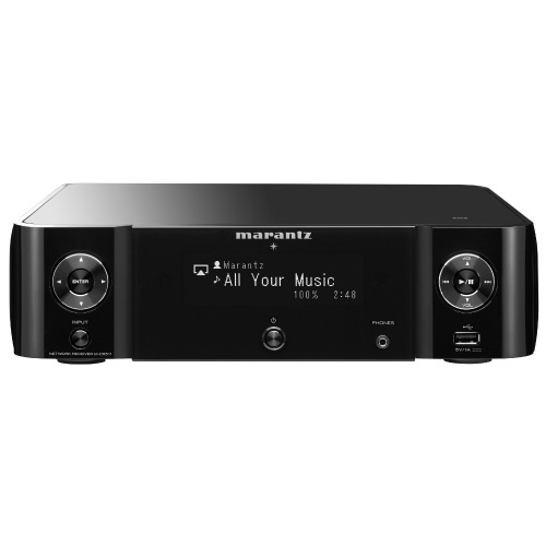 Marantz M-CR511 Melody Stream Wireless Musiksystem - Schwarz