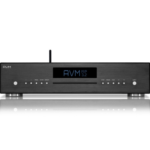 AVM - Evolution MP 3.2 Media Player - Schwarz