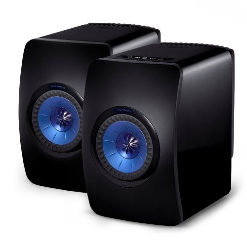 KEF LS50 Wireless Aktivlautsprecher Gloss Black