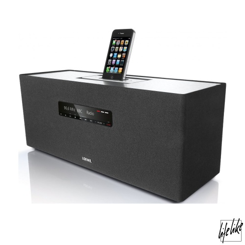 Loewe Soundbox Aktivlautsprecher - Silber