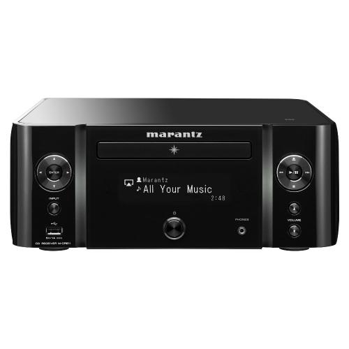 Marantz M-CR611 Melody Stream Wireless Musiksystem - Schwarz